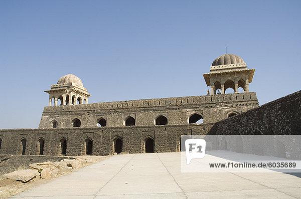 Rupmati Pavillon  Mandu  Madhya Pradesh Zustand  Indien  Asien