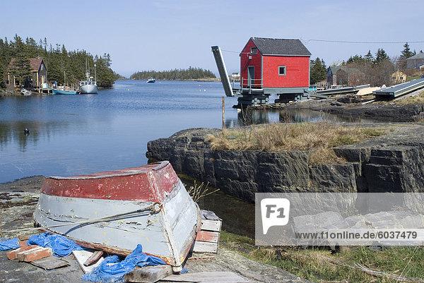 Angeln Dorf des Stonehurst Süd  Nova Scotia  Kanada  Nordamerika