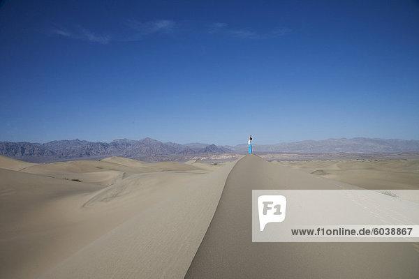Die Sanddünen  Death Valley National Park  California  Vereinigte Staaten von Amerika  Nordamerika