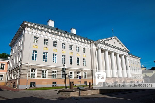 Europa Gebäude Tartu County Baltikum Estland Universität