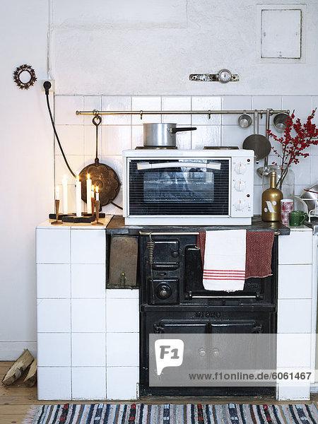 Küche Kerze Ofen