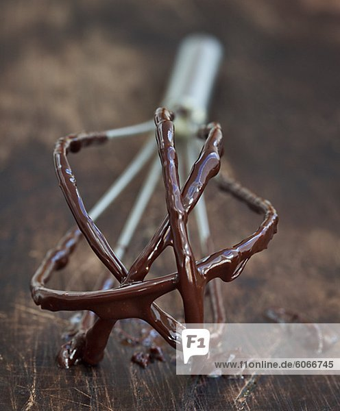 Schokolade klebrig Rührbesen