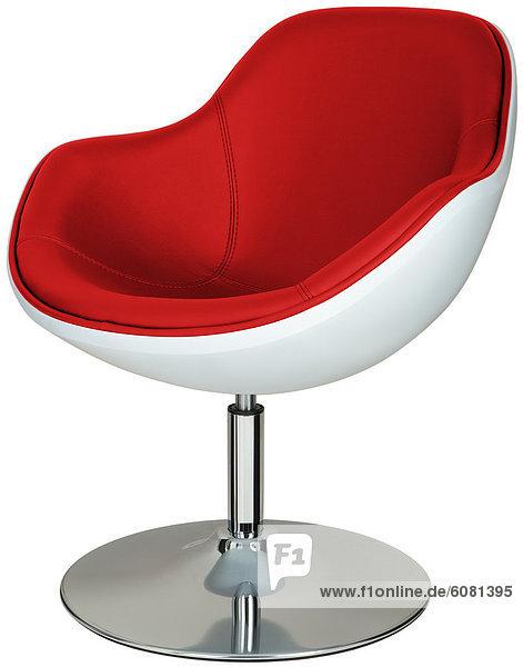 Drehbarer Lounge-Sessel  schräg