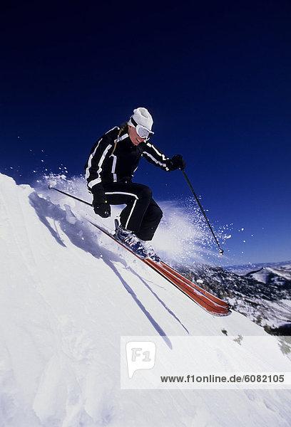 Frau  Skisport  Utah