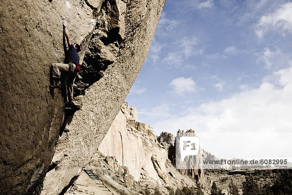 Felsbrocken  Anschnitt  Schwierigkeit  Produktion  Klettern  Weg