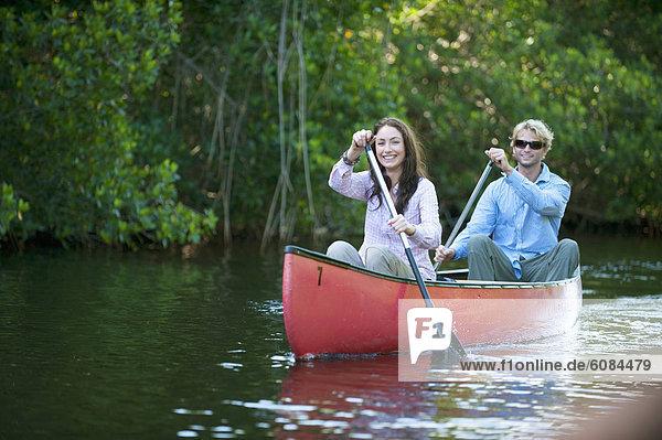 Kanu  Paddel  Everglades Nationalpark  Florida