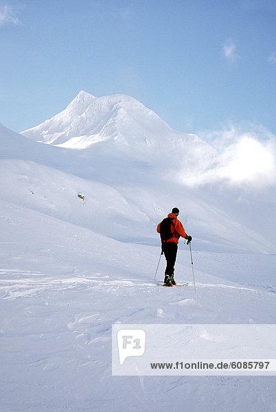 Skifahrer  Tagesausflug  Alpen  Italienisch