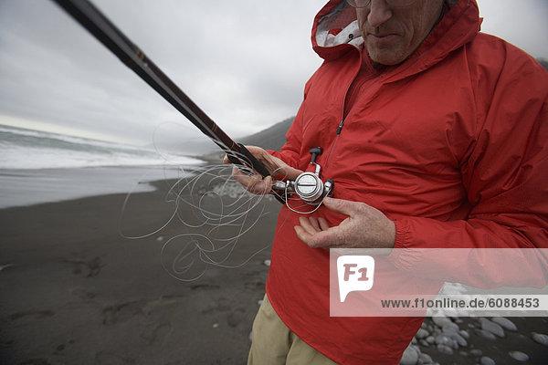 Mann  Ozean  Küste  Desorientiert  Pazifischer Ozean  Pazifik  Stiller Ozean  Großer Ozean  Fisch  Pisces  Kalifornien