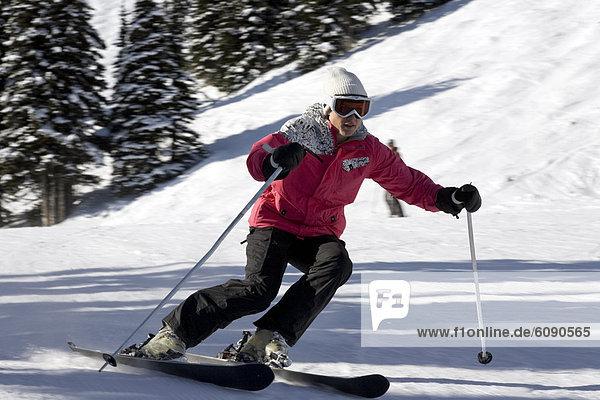 blond  Frau  Tag  Skisport  Gesichtspuder  Sonnenlicht