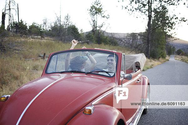 Auto  fahren  Retro  Spaß