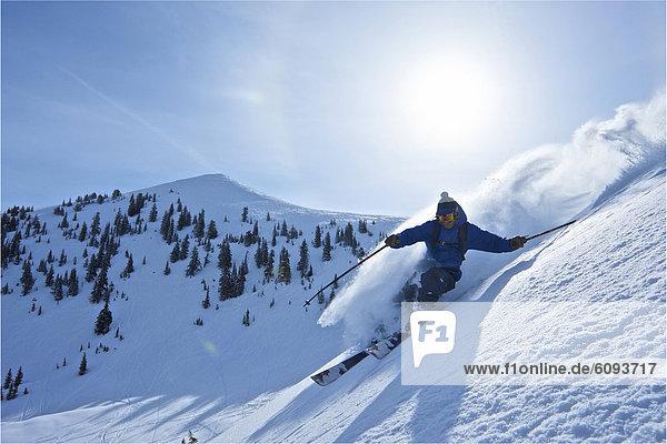 Mann  Ski  Wyoming