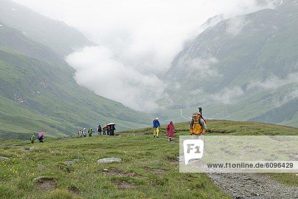 Tal  wandern  Alpen  Reise