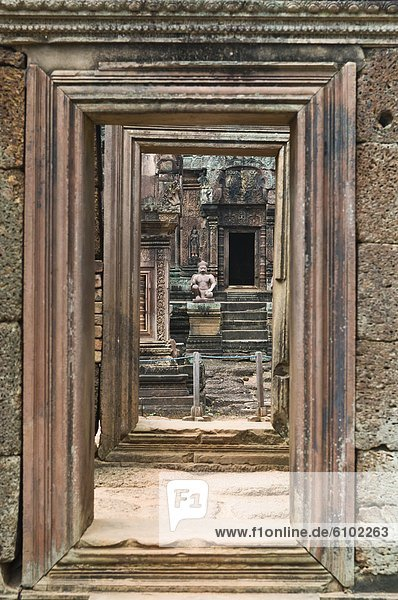 Angkor  Banteay Srei  Kambodscha
