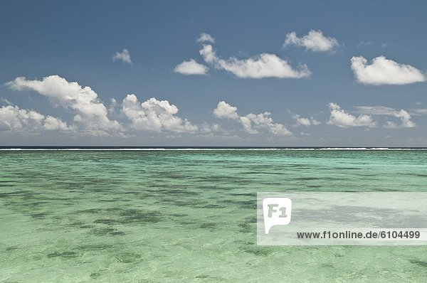Cook-Inseln  Lagune  Rarotonga