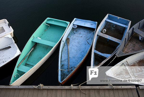 Boot Dock binden