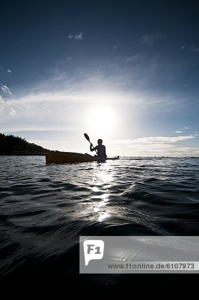 Silhouette  Cook-Inseln  Rarotonga