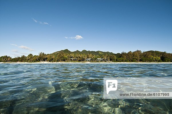 Ansicht  Seitenansicht  Cook-Inseln  Rarotonga