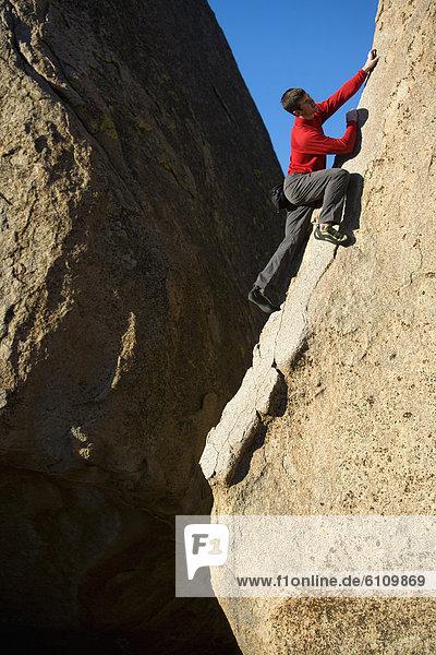 Klettern  Freeclimbing