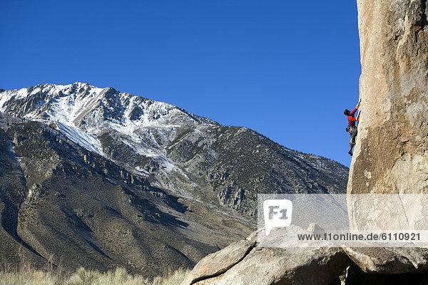 führen  Boulder  klettern  Blei