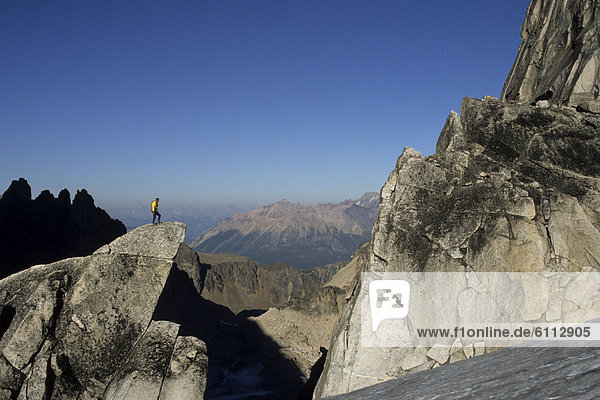 Berggipfel  Gipfel  Spitze  Spitzen  Klettern  Granit