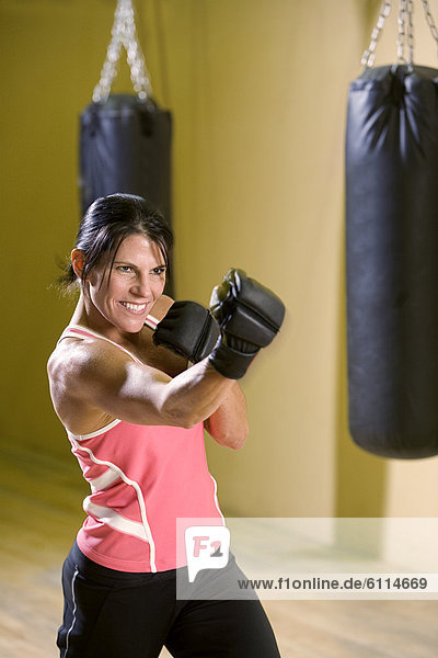 Fitness-Studio  Frau