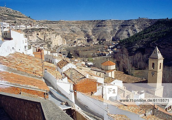 Alcala del Jucar  Albacete province  Castilla La Mancha  Spain