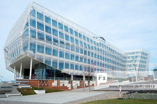 Gebäude  Büro  Zentrale  Hamburg - Deutschland  Deutschland