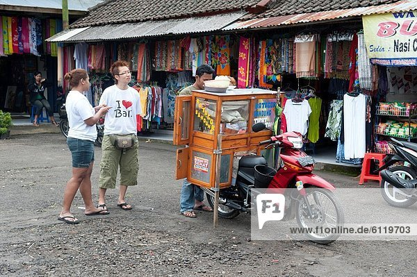 Market in the island of Bali  Indonesia