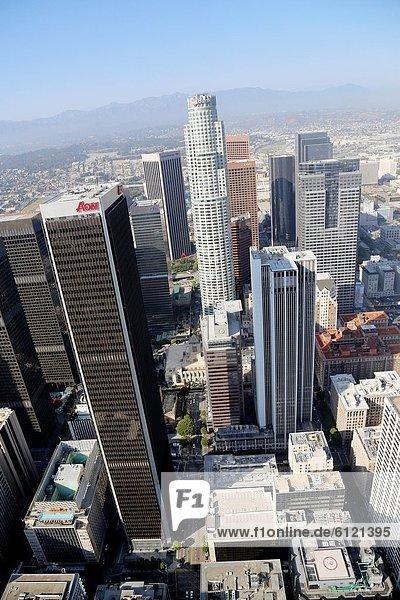 Vereinigte Staaten von Amerika  USA  Luftbild  Kalifornien  Innenstadt