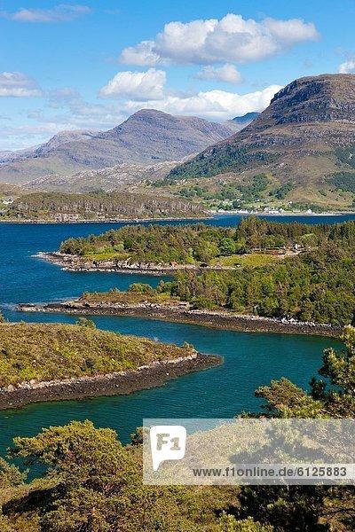 nahe  Europa  Großbritannien  See  Schottland