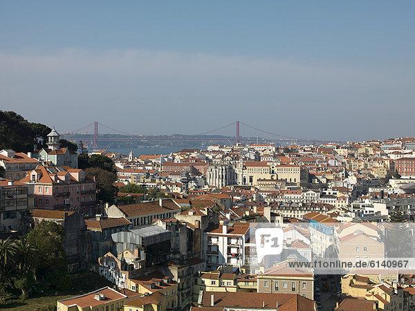 Küste  Großstadt  Ansicht  Luftbild  Fernsehantenne