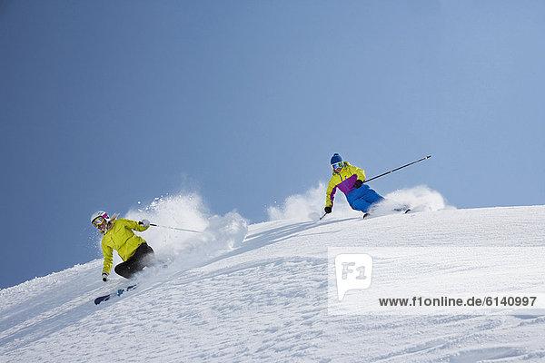 Schnee  Ski  Küste  Hang