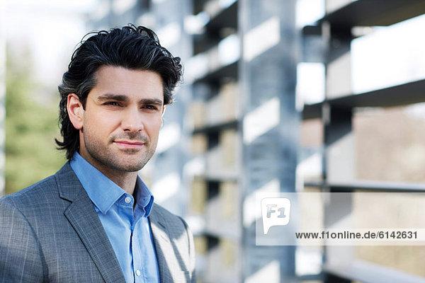 Mittlerer Erwachsener Geschäftsmann  Portrait