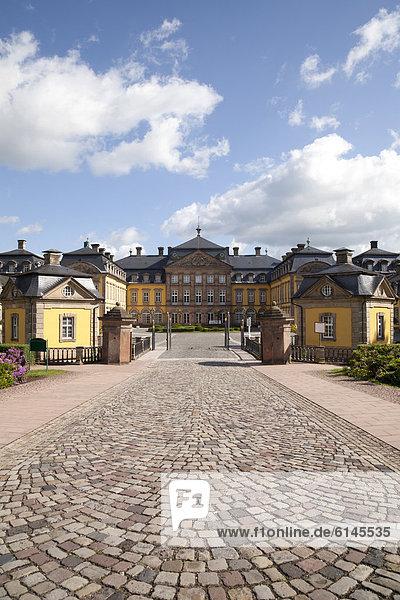 Residenzschloss  Bad Arolsen  Waldecker Land  Hessen  Deutschland  Europa  ÖffentlicherGrund