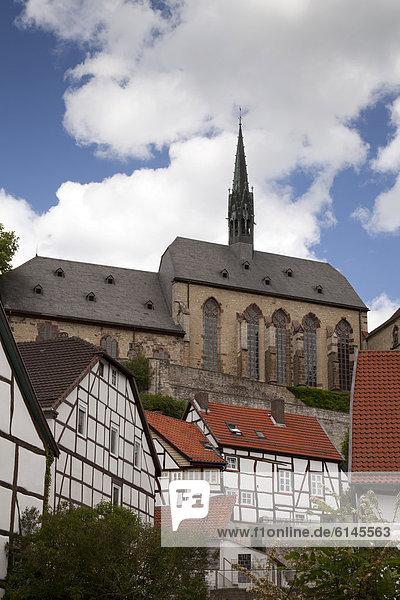 Mittelalter Europa Stadt Kirche Deutschland Nordrhein-Westfalen Nordrhein-Westfalen