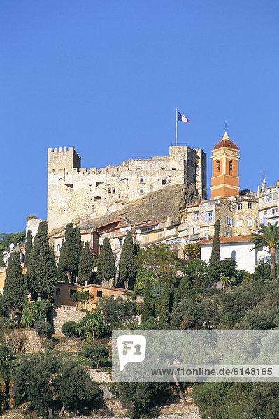 Roquebrune  Cote d ' Azur  Alpes-Maritimes  Provence  Frankreich  Mediterranean  Europa