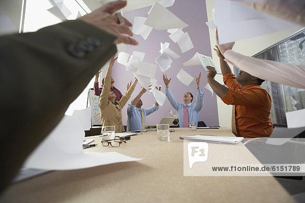 Wirtschaftsperson  jubeln  Besuch  Treffen  trifft