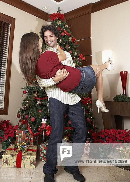 Baum  Hispanier  Weihnachten  spielen