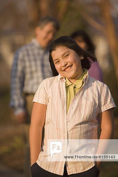 Maultasche  Hispanier  Mädchen