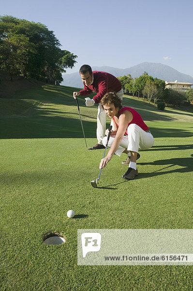 multikulturell  Golfsport  Golf  spielen