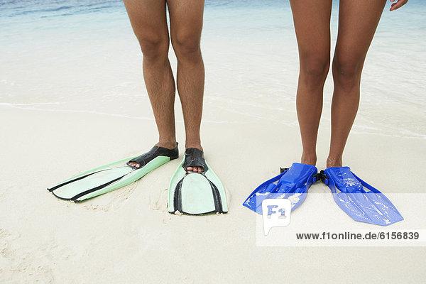 Schwimmflosse  Flosse  Südamerika  Kleidung