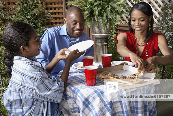 Pizza  essen  essend  isst
