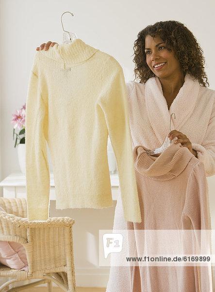 Frau  Entscheidung  Kleidung