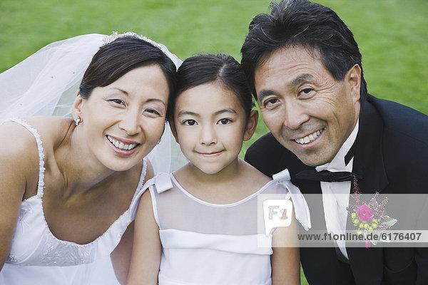 Portrait  Hochzeit  Tochter