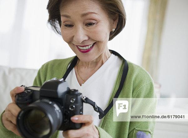 Frau  halten  japanisch