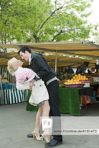 Europäer  Markt  Romantik