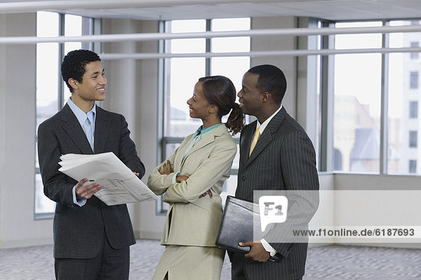 Mensch  unterhalten  Menschen  Blaupause  multikulturell  Business