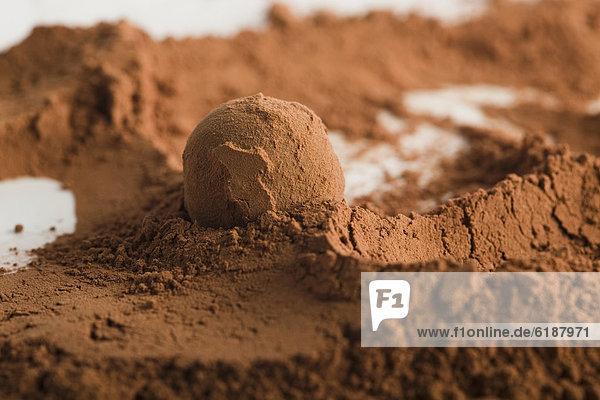 Schokolade  Gesichtspuder  Kakao  heiße Schokolade  Trinkschokolade   Ball Spielzeug