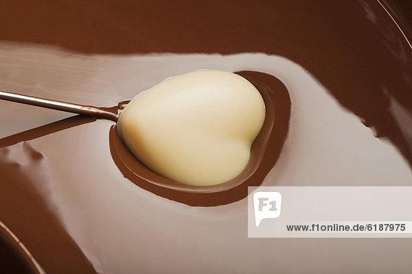 herzförmig  Herz  Schokolade  Süßigkeit