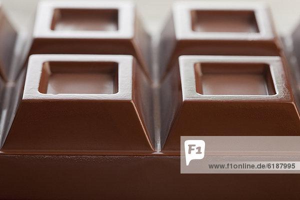 hoch  oben  nahe  Schokolade